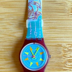 Swatch watch vintage 1991 Compass